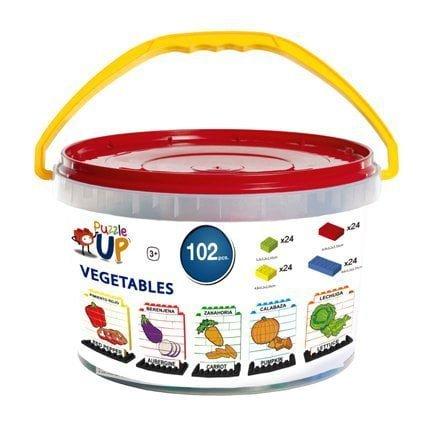 Puzzle Up Verduras 102 piezas envase