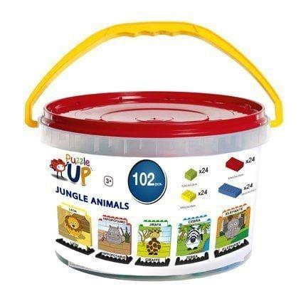 Puzzle Up Animales de selva 102 piezas envase