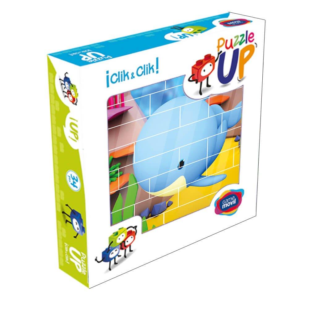 Puzzle ballena 32 piezas caja