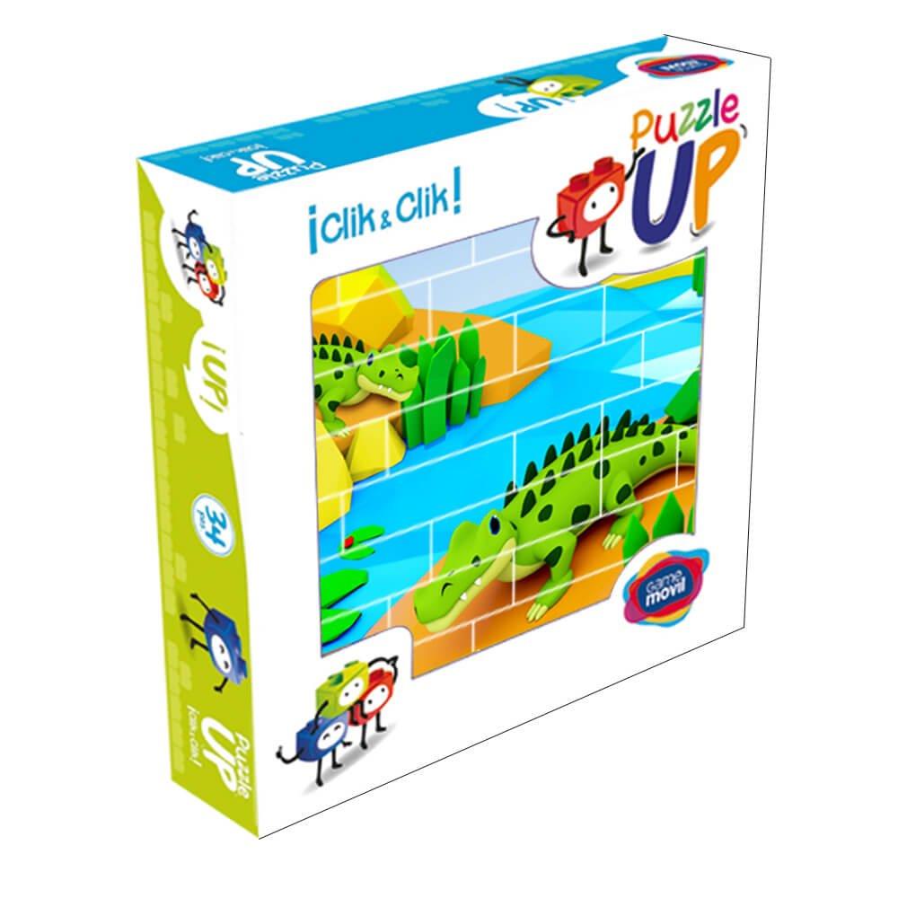 Puzzle cocodrilos 32 piezas caja