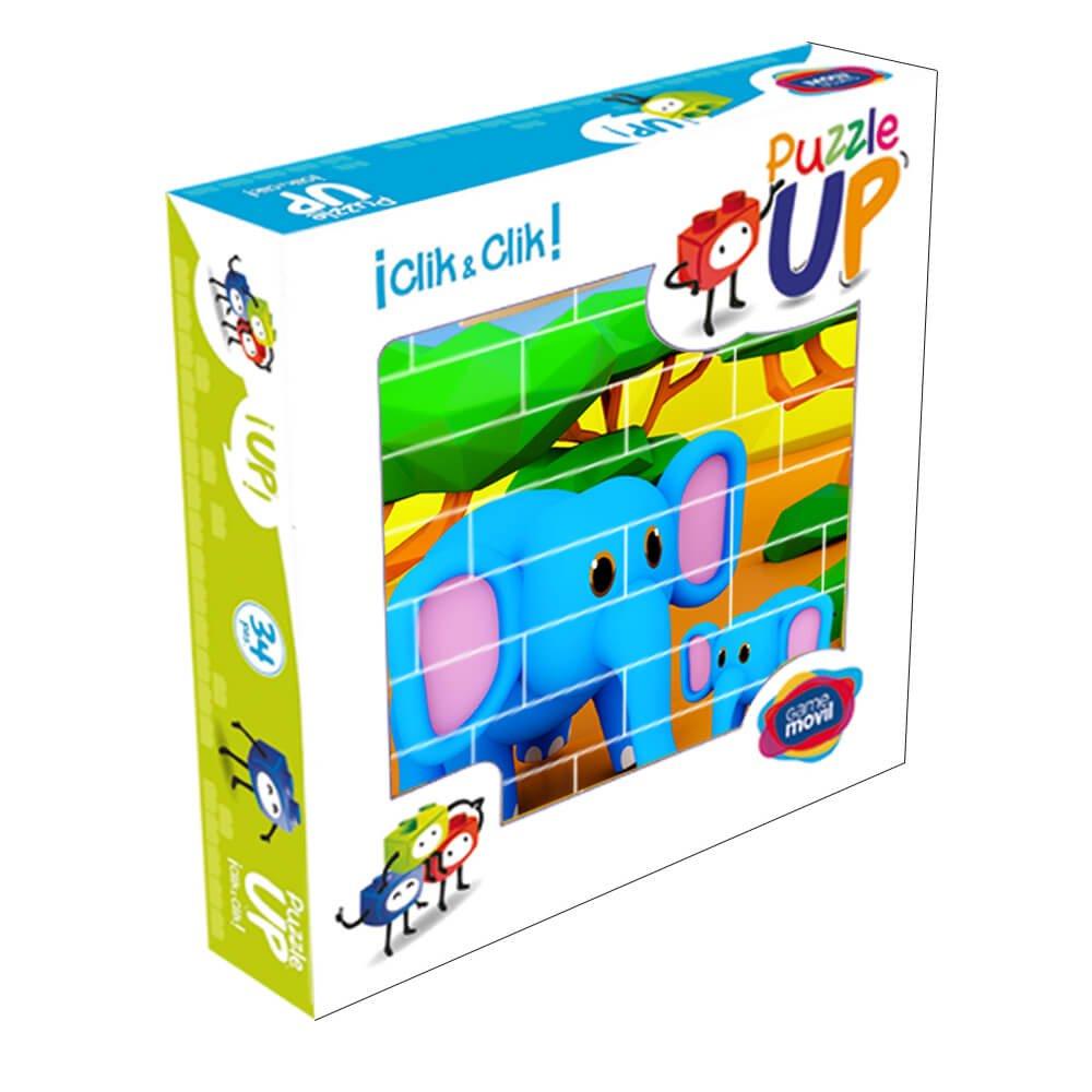 Puzzle elefantes 32 piezas caja