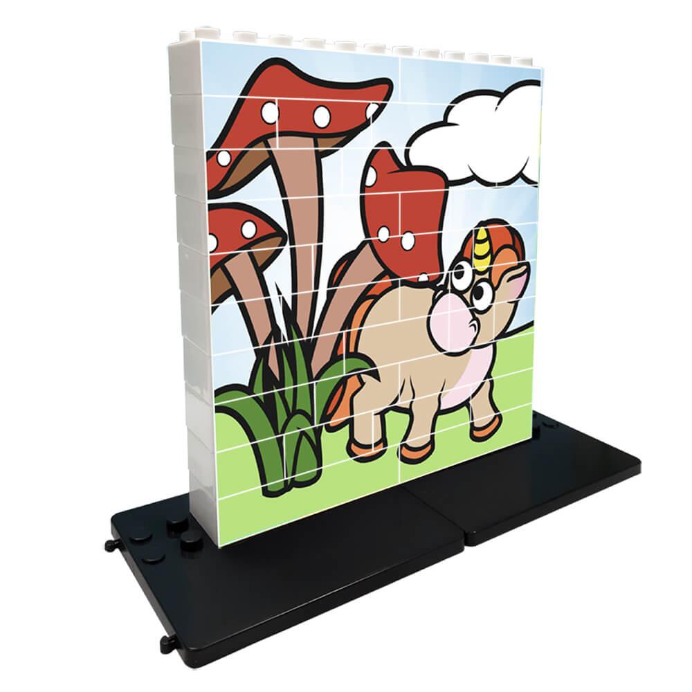 Puzzle Unicornio Setas 32 piezas