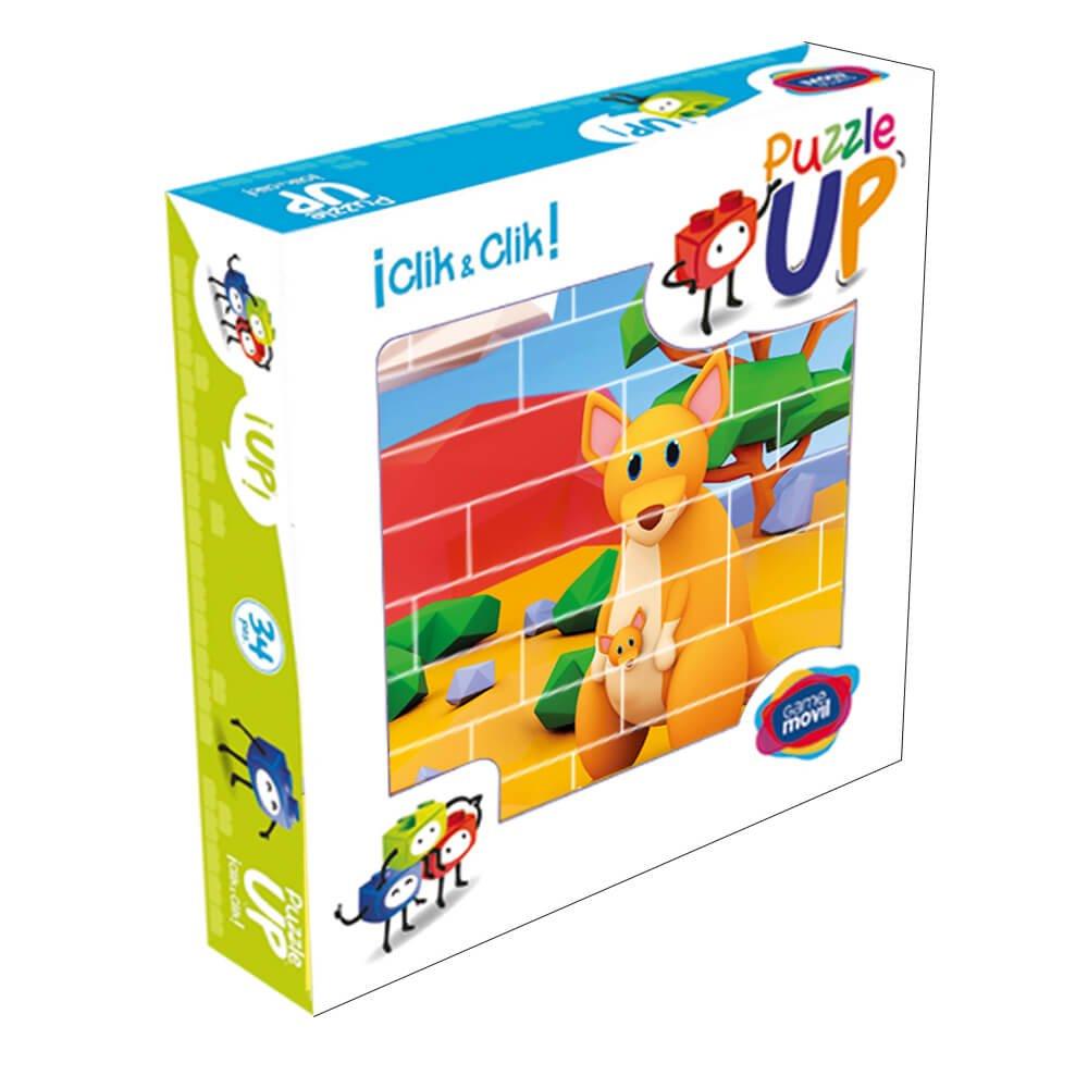 Puzzle Canguros 32 piezas caja