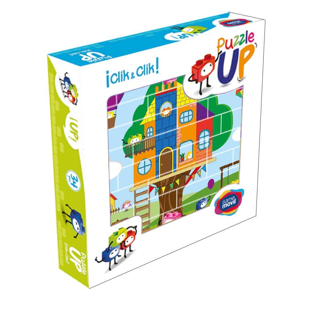 Puzzle Casa del árbol 32 piezas caja