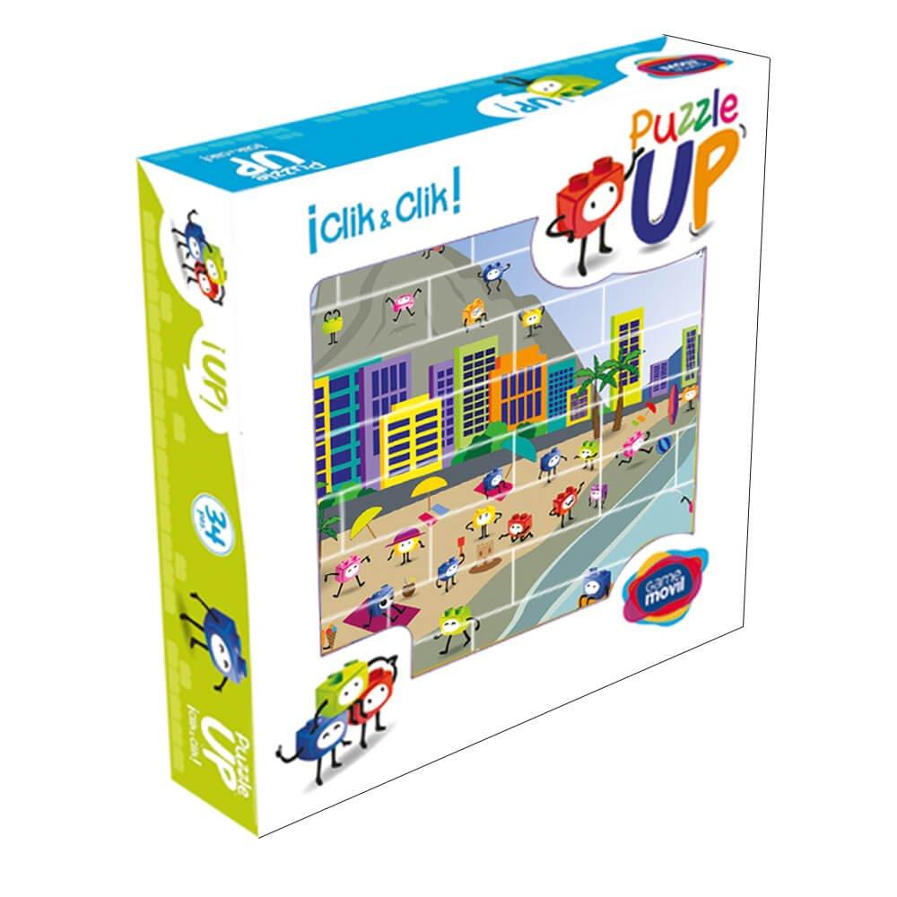 Puzzle Playa 32 piezas caja