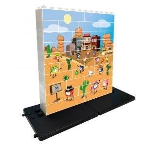 Puzzle Oeste 32 piezas