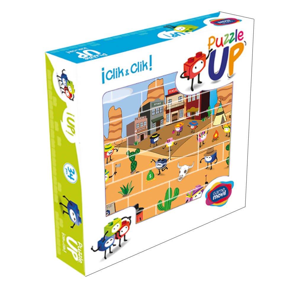 Puzzle Oeste 32 piezas caja