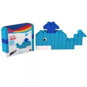 bloques gigantes ballena 16 piezas ref 88522