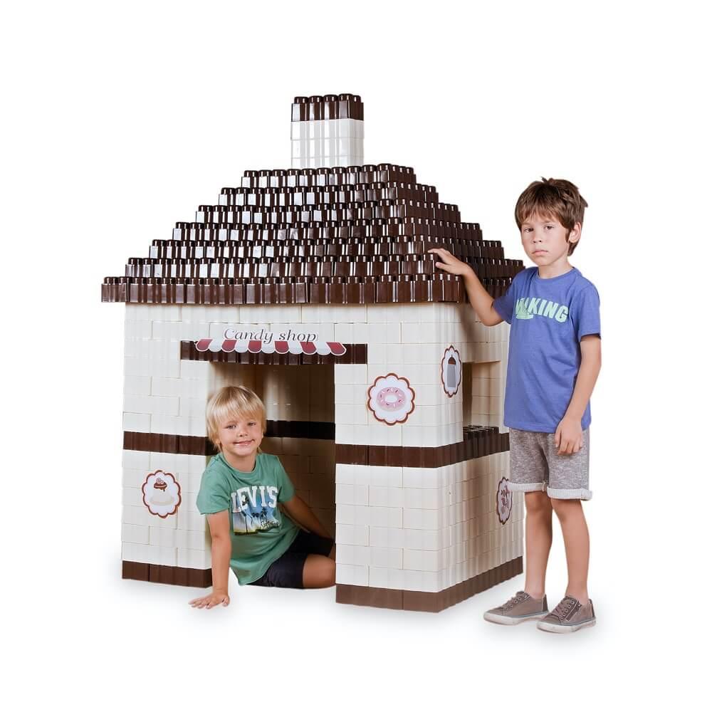 bloques gigantes candy shop 384 piezas ref 88211