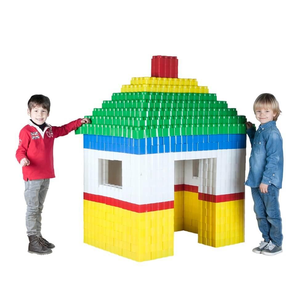 bloques gigantes casa 384 piezas ref 88201