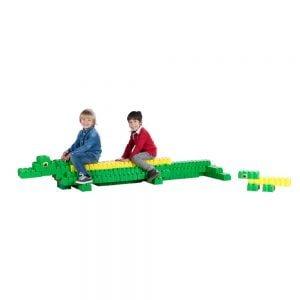 bloques gigantes cocodrilos 96 piezas ref 88203