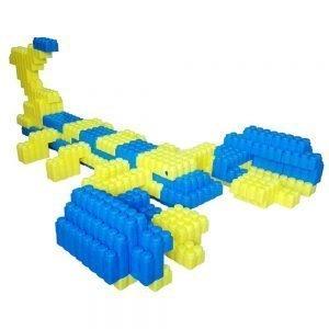 bloques gigantes escorpión 192 piezas ref 88221