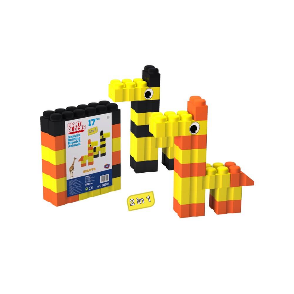 bloques gigantes jirafa 17 piezas ref 88531