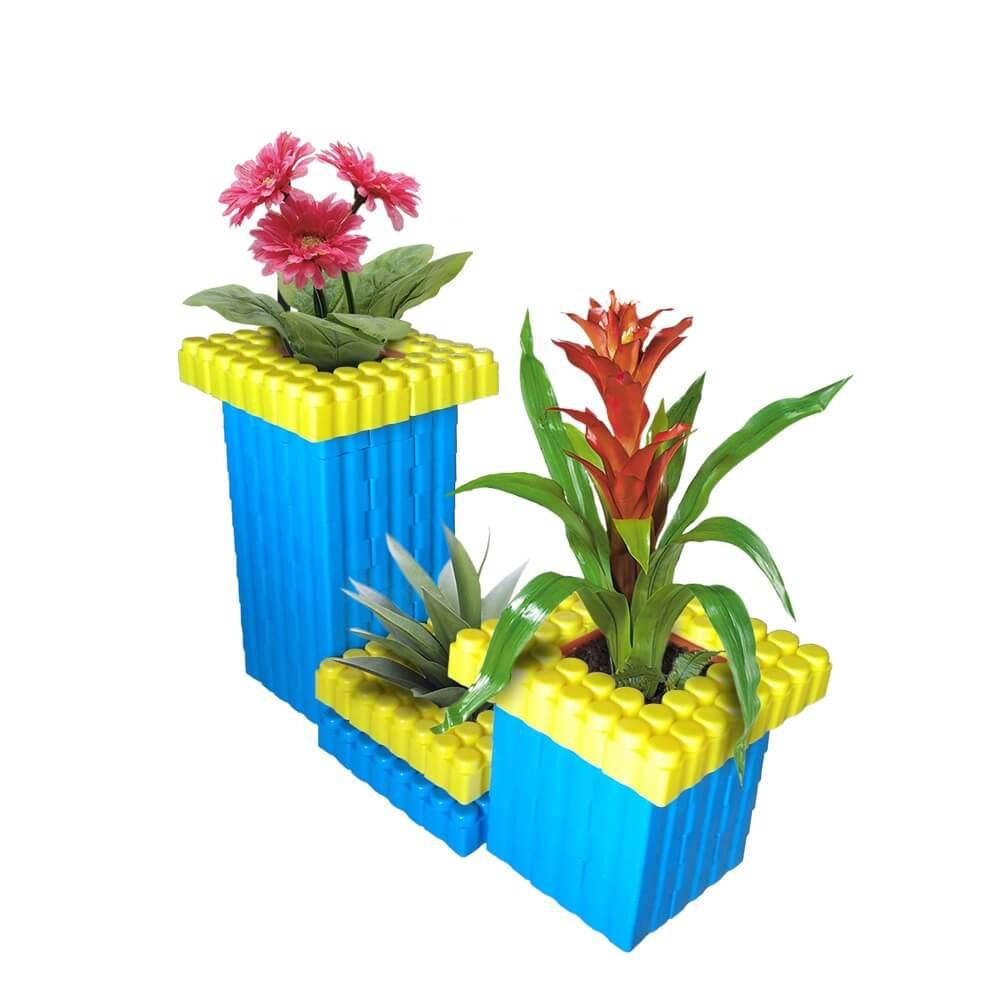 bloques gigantes maceteros 96 piezas ref 88261