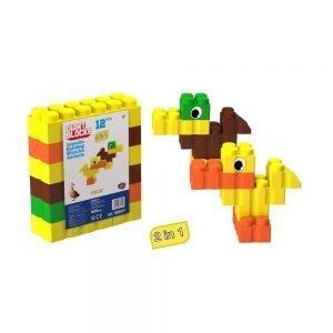 bloques gigantes pato 12 piezas ref 88534