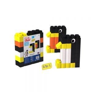 bloques gigantes pingüino 17 piezas ref 88532