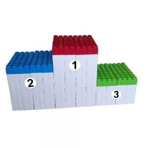 bloques gigantes pódium 192 piezas ref 88291