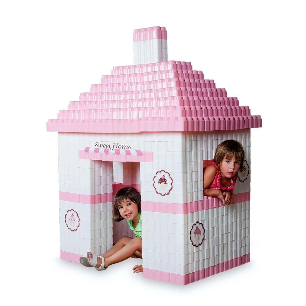 bloques gigantes sweet home 384 piezas ref 88212
