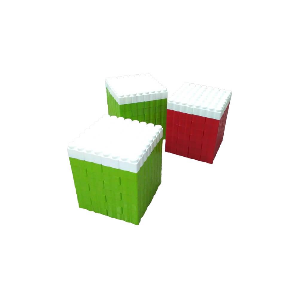 bloques gigantes taburetes 192 piezas ref 88218