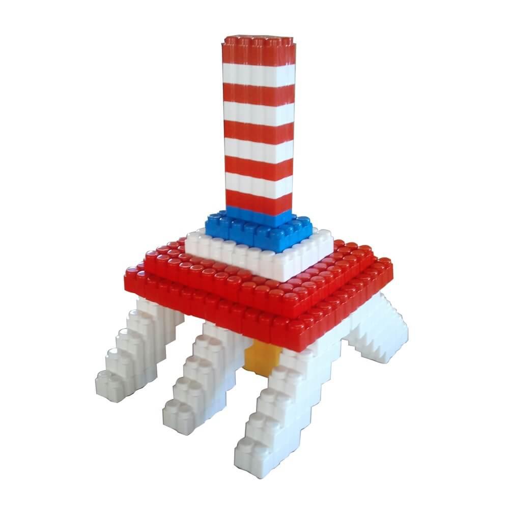 bloques gigantes torre 96 piezas ref 88205
