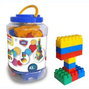 construcciones 43 piezas ref 82112