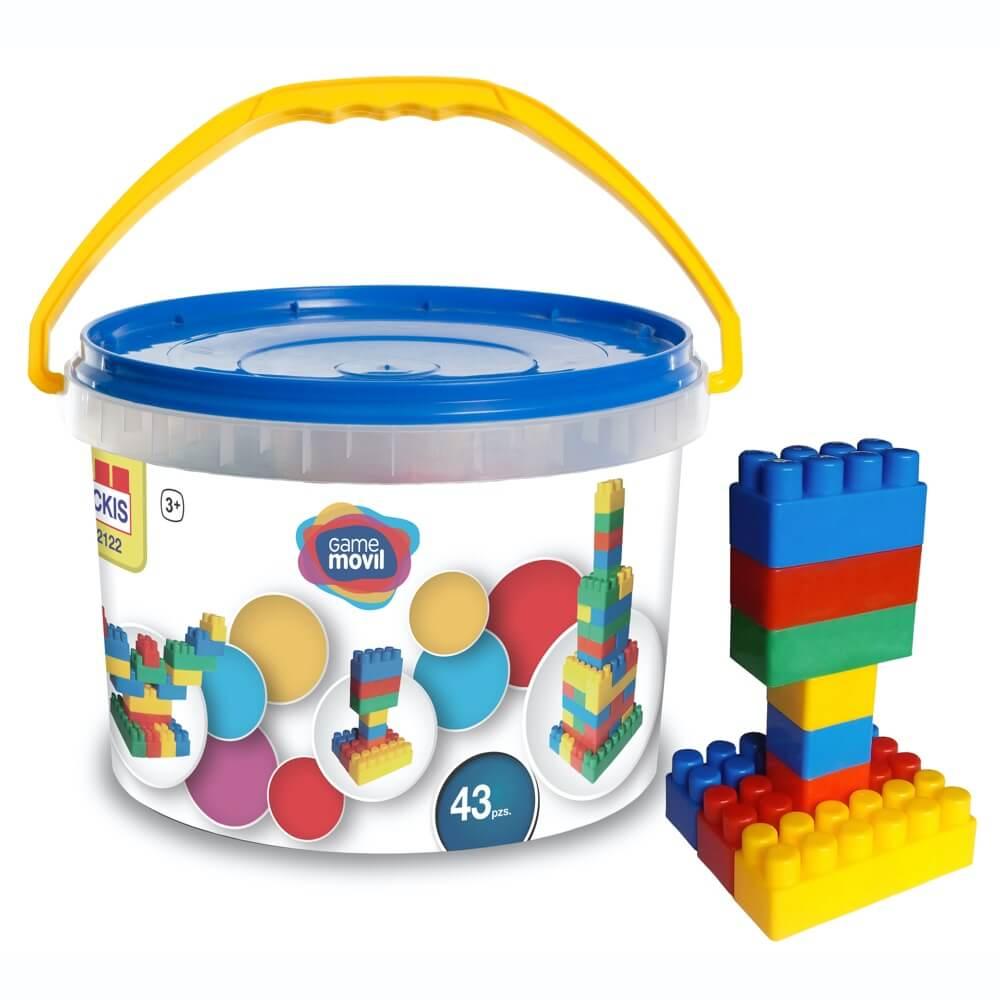 construcciones 43 piezas ref 82122