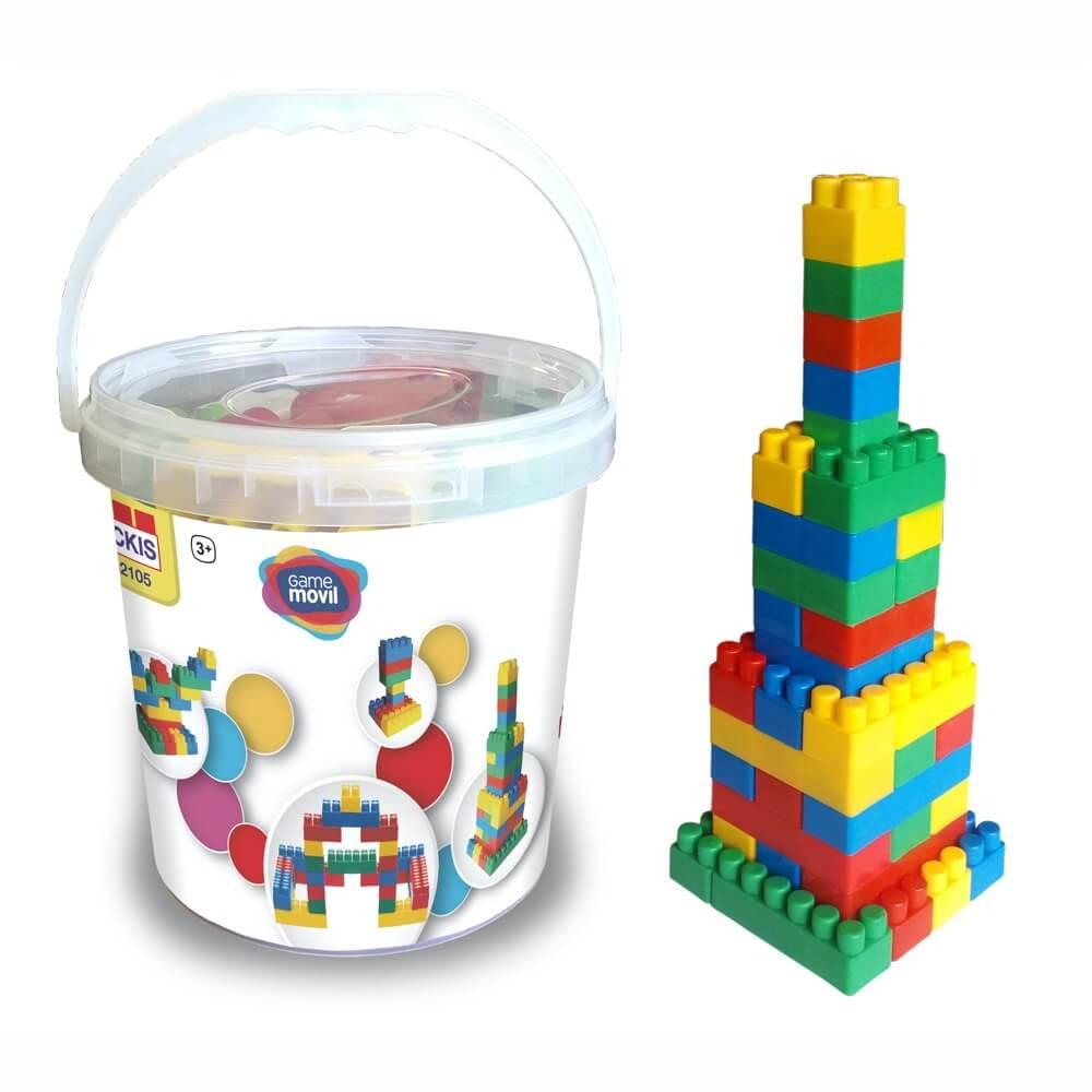 construcciones 72 piezas ref 82105