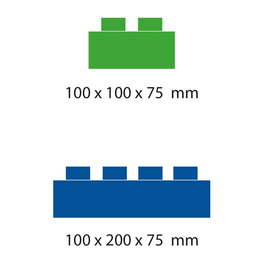 medidas bloques gigantes 2 tamaños