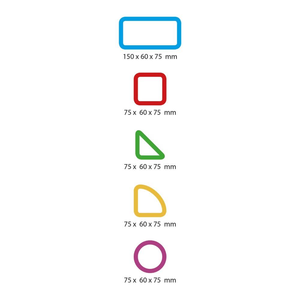 medidas piezas color vision