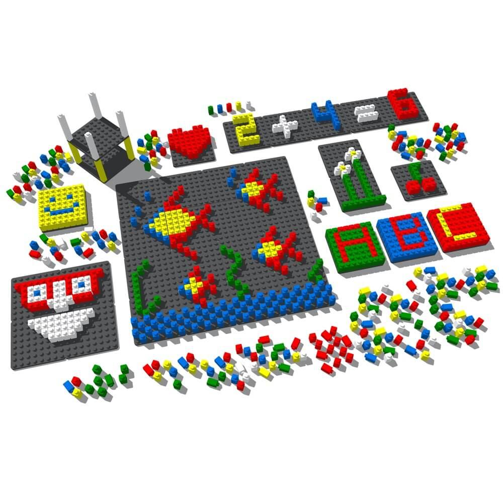 mosaico pixel color 1042 piezas ref 84804