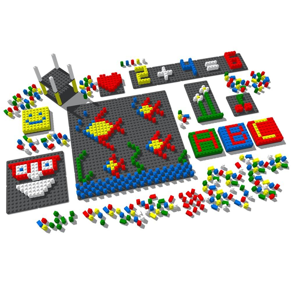 mosaico pixel color 1717 piezas ref 84811
