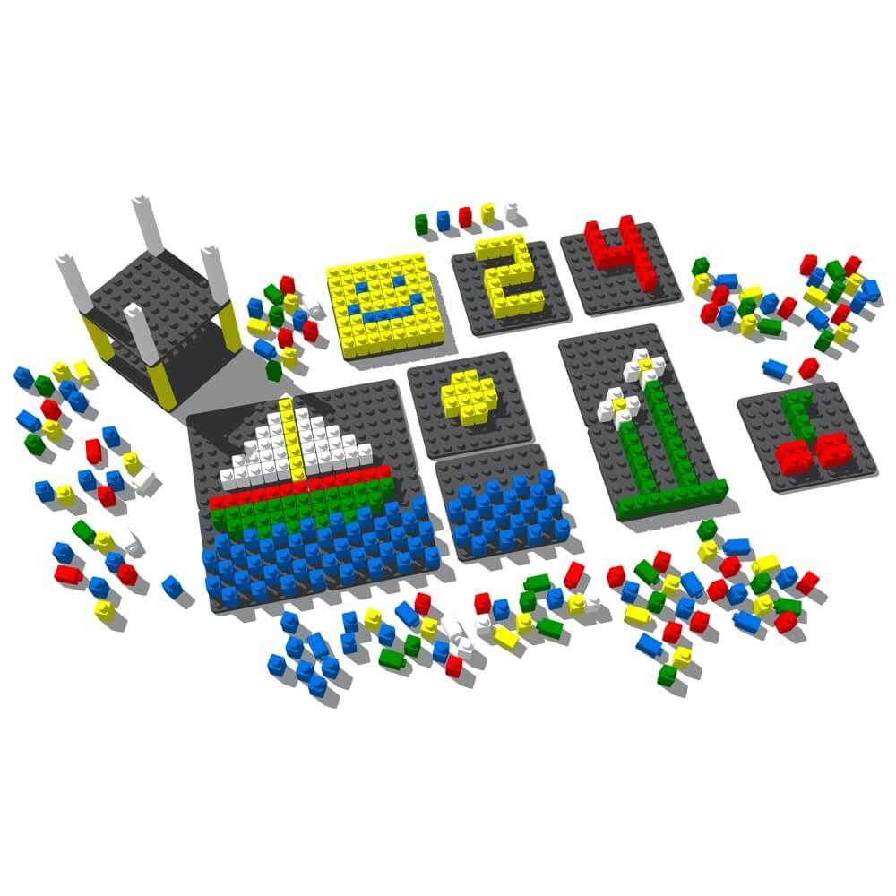 mosaico pixel color 230 piezas ref 84801