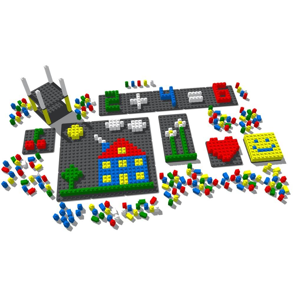 mosaico pixel color 490 piezas ref 84802