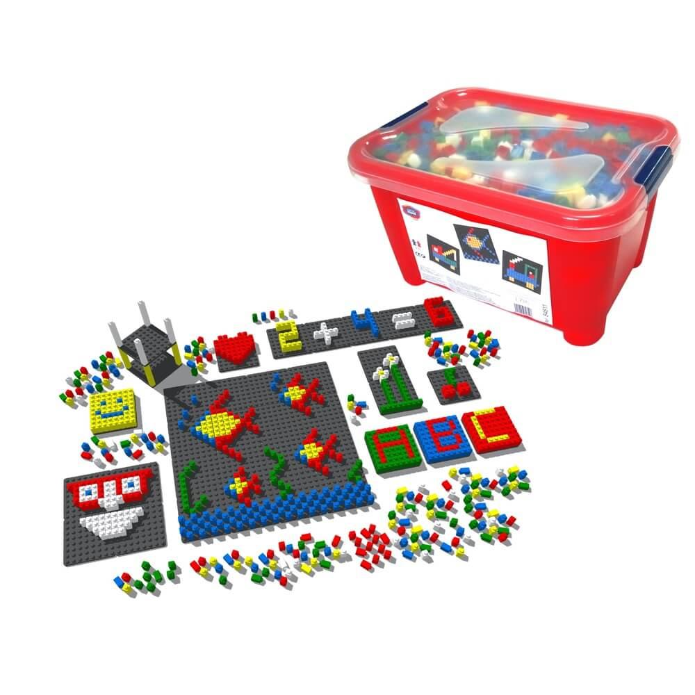 mosaico pixel color envase 1717 piezas ref 84811