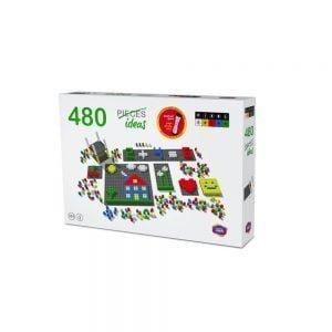 mosaico pixel color envase 490 piezas ref 84802