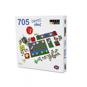 mosaico pixel color envase 718 piezas ref 84803