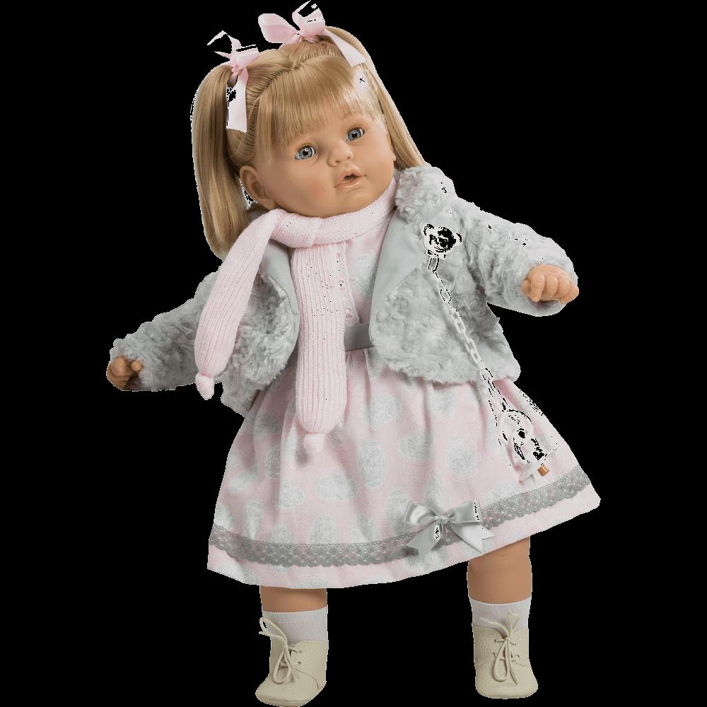 muneca baby dulzona chaleco gris ref 8043