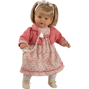 muneca baby dulzona vestido corazones ref 8039