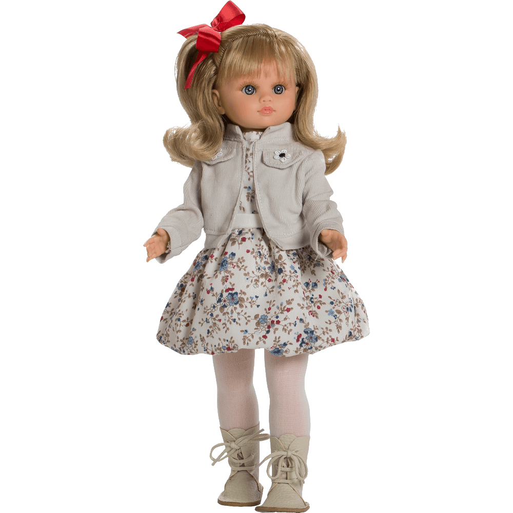 muneca fany vestido gris ref 4704