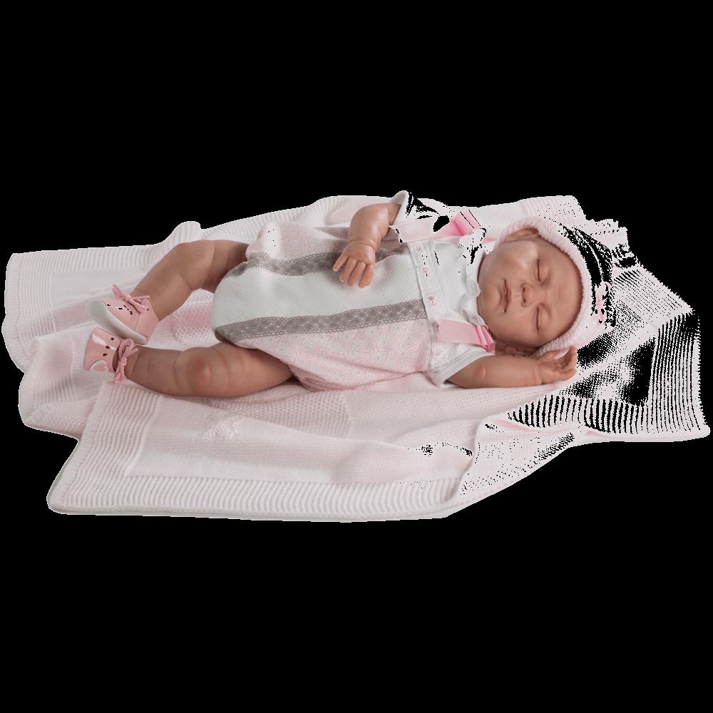 baby reborn pelele rosa ref 5303