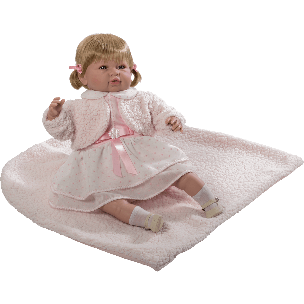 muneca sara vestido rosa ref 5207R