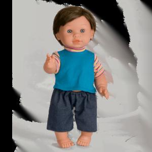 muneco europeo vestido con sexo ref 40717