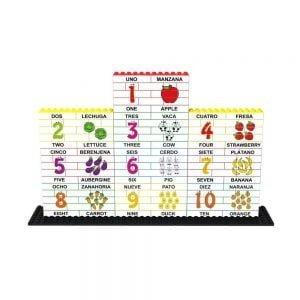 puzle-vertical-de-construccion-bilingue-numeros-y-representacion-180-piezas-ref-83483