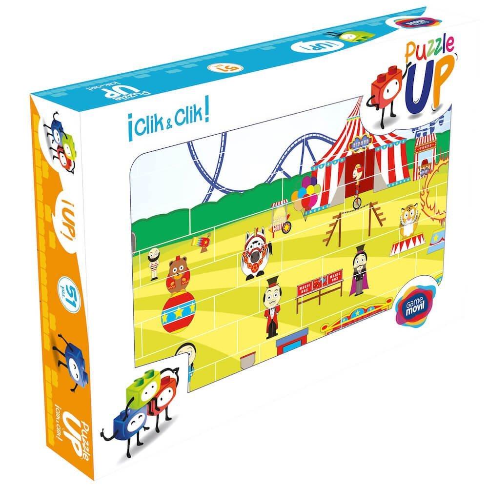 puzle vertical de construccion circo envase 48 piezas ref 83411