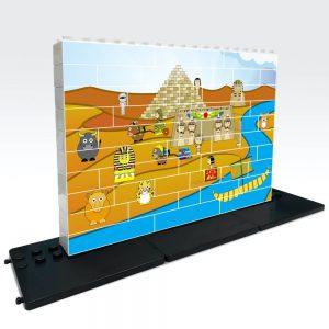 puzle vertical de construccion egipto 48 piezas ref 83412
