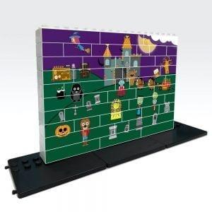 puzle vertical de construccion halloween 48 piezas ref 83409
