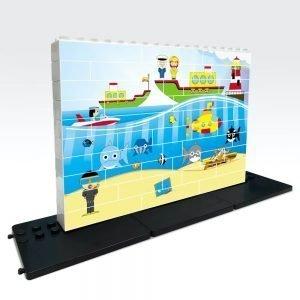 puzle vertical de construccion mar 48 piezas ref 83403