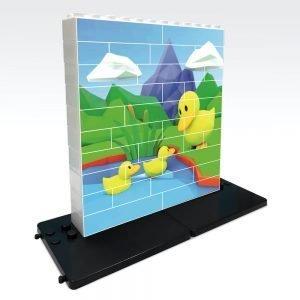 puzle vertical de construccion pato 32 piezas ref 83104