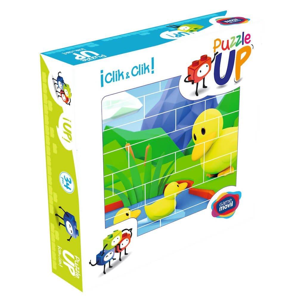 puzle vertical de construccion pato envase 32 piezas ref 83104