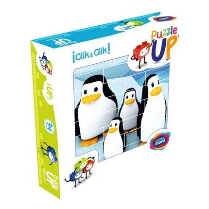puzle-vertical-de-construccion-pingüino-envase-32-piezas-ref-83101
